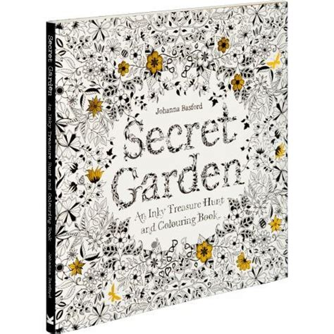 secret garden an inky treasure hunt and coloring book uk secret garden an inky treasure hunt and coloring book by