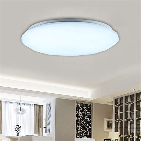 Bedroom Ceiling Lights Uk 24w Led Ceiling Light Recessed Pendant Kitchen Bedroom Living Room Uk Ebay