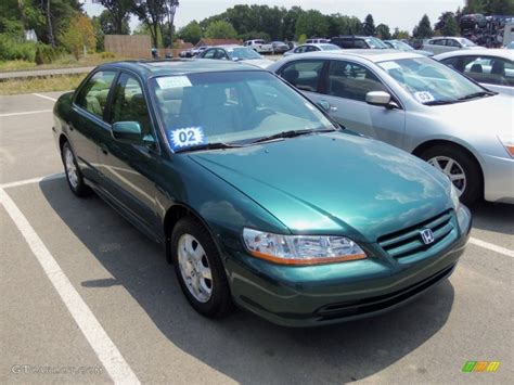 2002 green honda accord noble green pearl 2002 honda accord ex sedan exterior