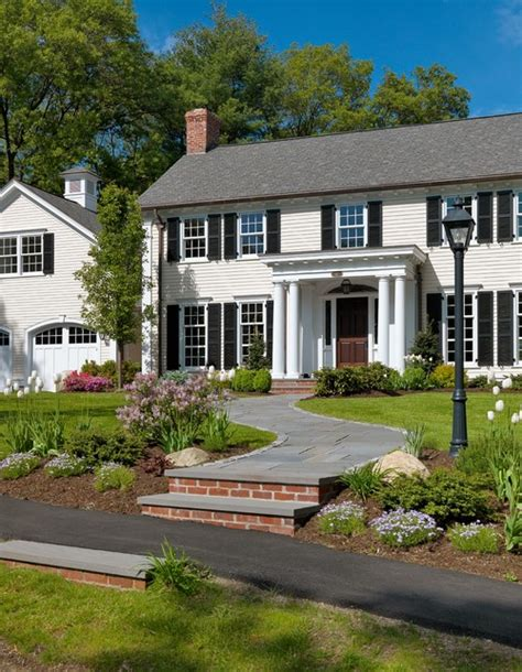 colonial revival architecture showstopping front doors tms architects