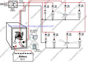 electrical technology automatic ups system wiring diagram in of some items depends on ups