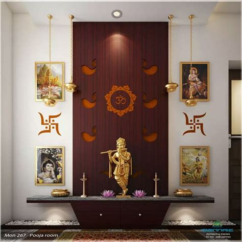 pooja place in living room 614 best pooja room designs images on