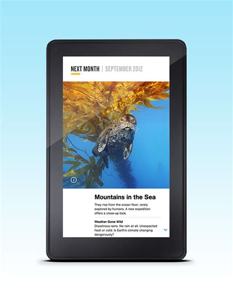 design app for kindle national geographic kindle fire on behance