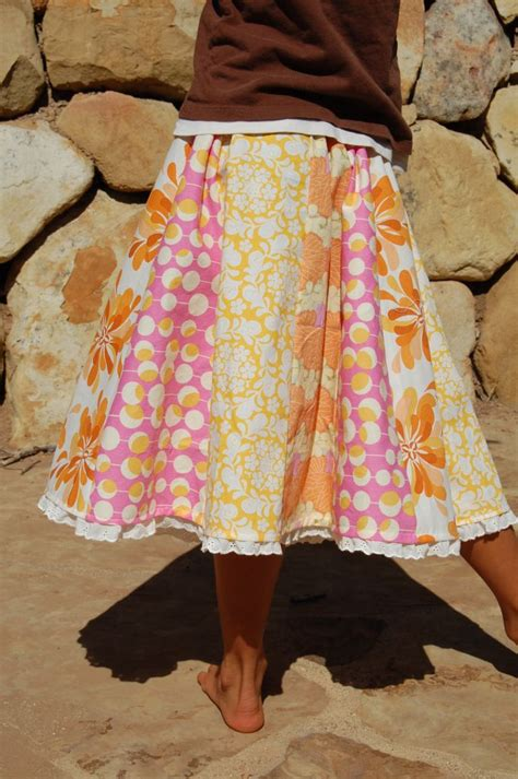 Patchwork Skirt Pattern Free - patchwork skirt tutorial great way to use use up scraps