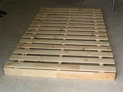flaches bettgestell simple flat bed frame