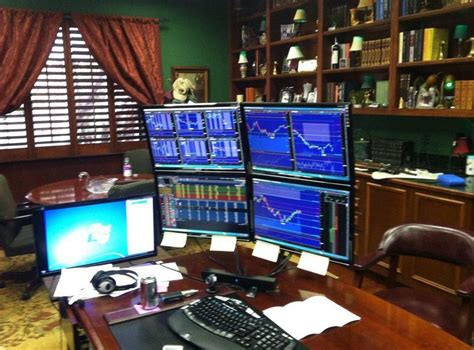 Office Setup Ideas by Trading Desk Setup Learn To Trade Stocks Amp Options