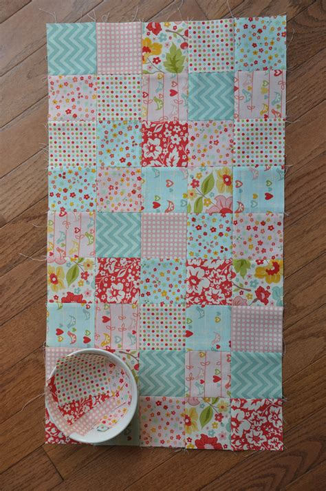 Patchwork Patterns For Baby Quilts - clover violet patchwork baby doll quilt and mini