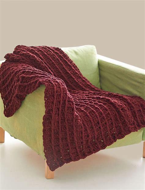crochet pattern using bernat blanket yarn free crochet pattern bernat blanket yarn bricks blanket