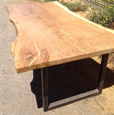 wood slab dining table without tablecloth loccie better