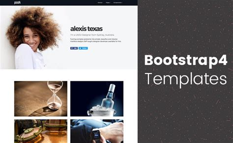 best templates for bootstrap best bootstrap 4 templates in 2018 download the high