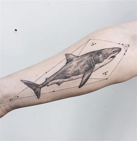 great white tattoo great white shark best ideas designs