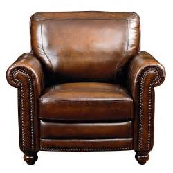 Leather Sofas And Chairs Old World Chair Hamilton Brown Leather Bassett Furniture