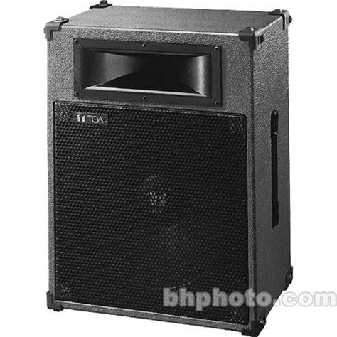 Speaker Toa toa electronics sl152 2 way 12 quot stage speaker sl152 b h