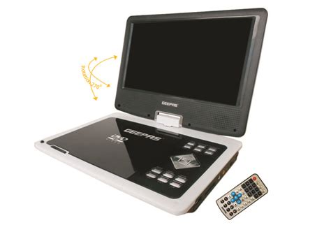 Geepas Dvd Player Video Format | 9 inch portable dvd player with high speed usb gdvd2740