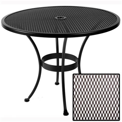Ow Lee Standard Mesh 36 Inch Round Dining Table 36 Mu 36 Inch Patio Table