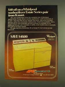 Soft Whirlpool 1959 by 1976 Kmart Whirlpool Washer Lda 6680 Dryer Lde 6680 Ad