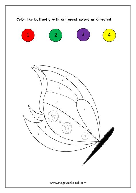 color recognition free printable color recognition worksheets color by