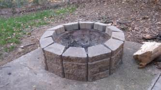 Diy Firepits My Everyday Exceptional Diy A Patio Pit