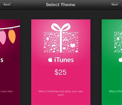 How To Send Itunes Gift Card - how to send itunes gift cards and individual apps from your ios device this holiday