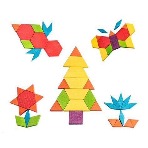 Pattern Recognition Geometric Shapes | mideer geometric pattern blocks 250 pcs jolly b kids