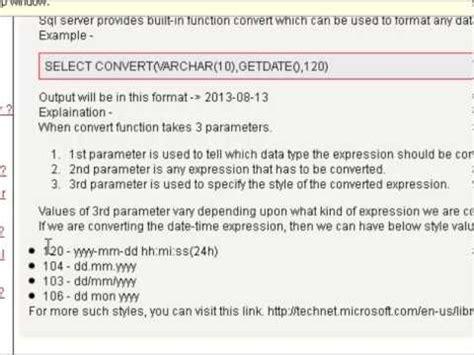 mysql change date format yyyy mm dd how to convert the date in yyyy mm dd format in sql server