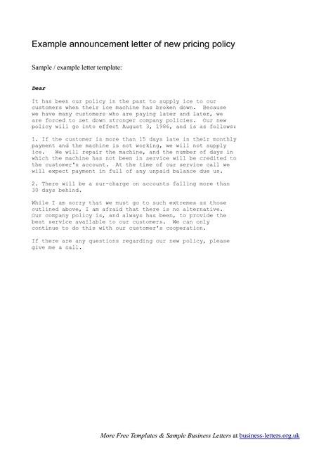 Company Introduction Letter To Vendor sle company memo announcing new vendor exle