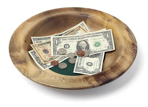 church offering plates