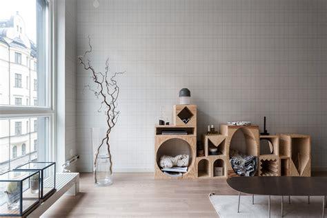 Notebook wallpaper in a beautiful Scandinavian interior