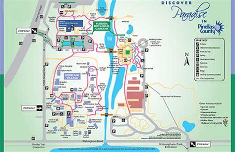 pinellas county botanical gardens maps update 600385 florida tourist map florida tourist