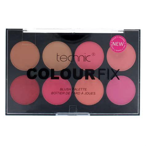 color fix technic colour fix blush palette