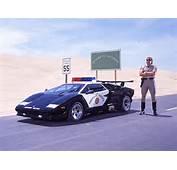 Lamborghini Cop Car With By Photoillustrators On
