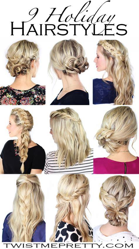 holiday hairstyles twist  pretty