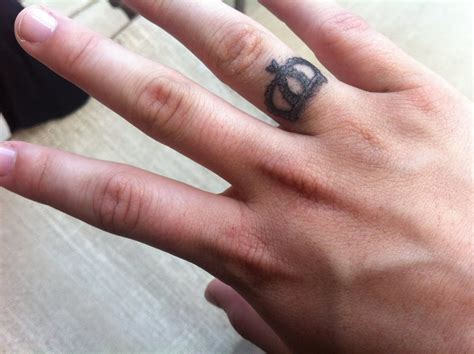 thumb ring tattoo designs 40 ring finger tattoos