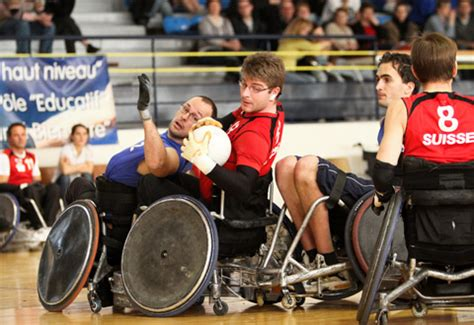 rugby 7 fauteuil rugby fauteuil mairie de niort