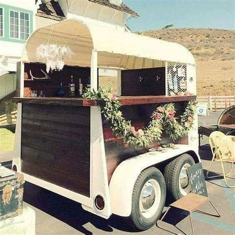 vintage this repurpose that repurpose old horse trailers for special events wedding