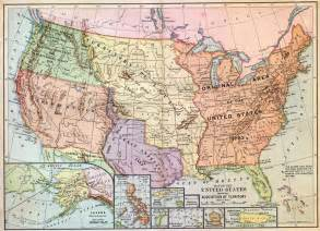 Expansion Of The United States Map by Westward Expansion Map