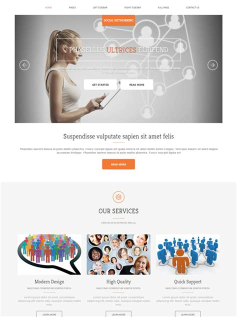 templates for social networking website social networking html template social networking