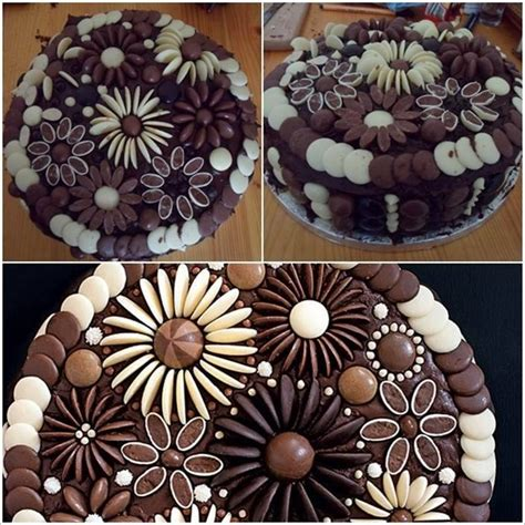 how to decorate chocolate cake at home chocolate button cake ideas recipes pinterest button
