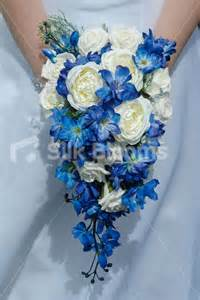 blue wedding bouquets beautiful blue delphinium and ivory teardrop bouquet beautiful blue delphinium and ivory