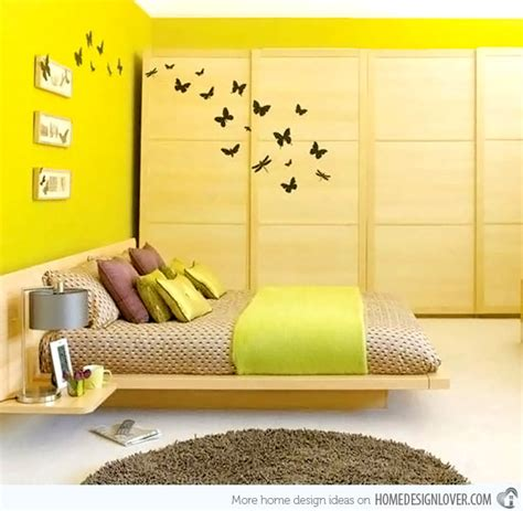 yellow bedroom decorating ideas 15 zesty yellow bedroom designs home design lover