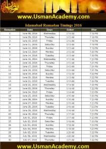Calendar 2018 Ramadan Islamabad Ramadan Timings 2018 Calendar Islamabad Ramazan
