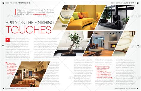 magazine layout envato magazine template bundle indesign layout v1 by