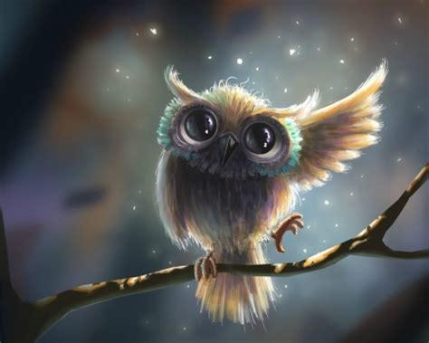 abstract owl wallpaper owl fantasy abstract background wallpapers on desktop