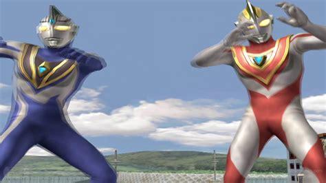 film ultraman gaia vs agul ultraman gaia ver 1 agul ver 2 tag team mode play