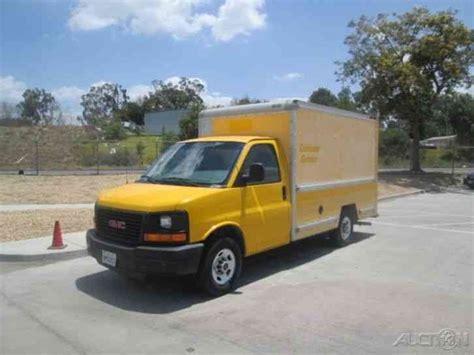2006 gmc savana gmc savana g3500 2006 box trucks