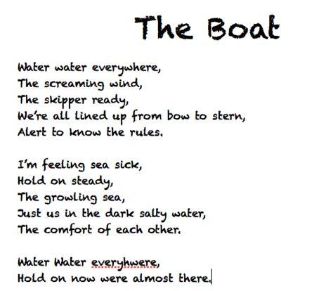 old boat poem 15 may 2012