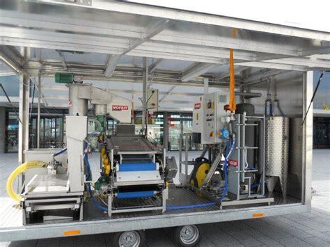 mobile production chantier mobile production jus de fruits