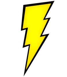 Lightning Bolt Character Lightning Clipart