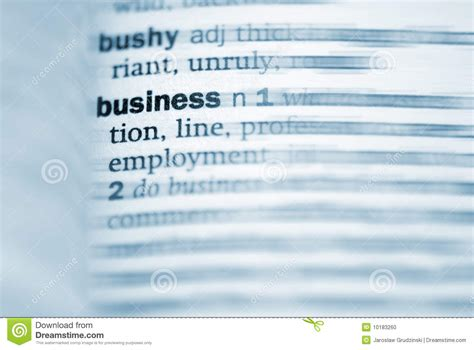 Closets Definition by Business Definition In Up Stock Photo Image 10183260