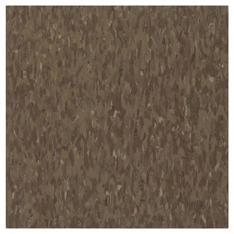 vinyl flooring no pattern shop armstrong 12 in x 12 in chocolate chip pattern